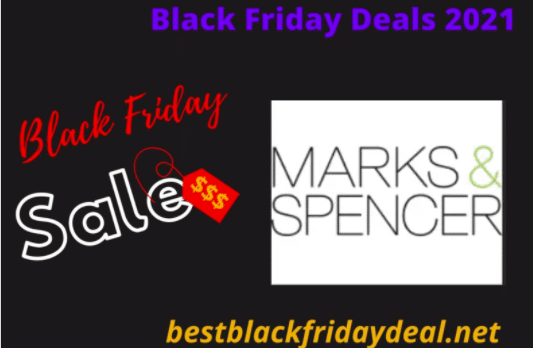 Marks and Spencer Black Friday 2021