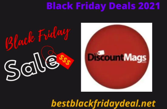 DiscountMags Black Friday Sale 2021
