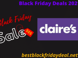 Claire's black Friday 2021